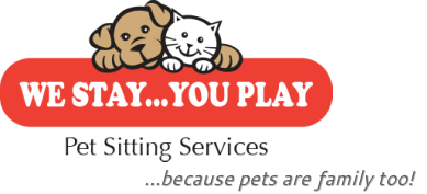 We Stay...You Play<br />Pet Sitting Services